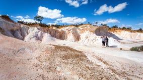 Buckleys αποσπασθε'ν - μια χρωματισμένη έρημος Στοκ Φωτογραφία