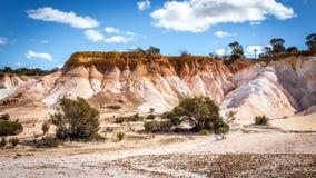 Buckleys Breakaway - Malująca pustynia Zdjęcia Stock