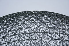 Buckminster Fuller's Geodesic Dome Royalty Free Stock Photography