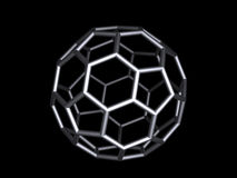 Buckminsterfullerene illustration de vecteur