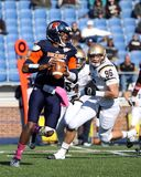 Bucknell Bison quarterback Brandon Wesley Stock Images