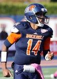 Bucknell Bison quarterback Brandon Wesley Stock Photos