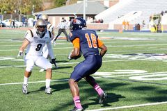Bucknell Bison receiver Will Carter Royalty Free Stock Photos