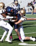 Bucknell Bison receiver #18 Will Carter Royalty Free Stock Photos