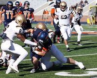 Bucknell Bison receiver #18 Will Carter Stock Photo