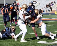 Bucknell Bison receiver #18 Will Carter Royalty Free Stock Photography