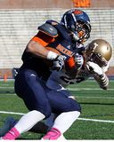 Bucknell Bison running back C.J. Williams Stock Image