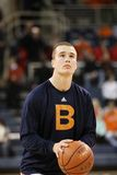 Bucknell's J. C. Show practices free throws Royalty Free Stock Photography