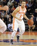 Bucknell's  #5 John Azzinaro dribbles Royalty Free Stock Photography