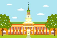 Bucknell-Universität USA Vektor Abbildung