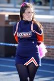 Bucknellbizon cheerleader Stock Foto's