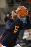 Bucknells  Nana Foulland practices free throws Stock Photos