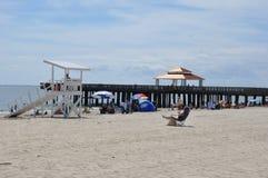 Buckroe Beach Park in Hampton, Virginia Royalty Free Stock Photography
