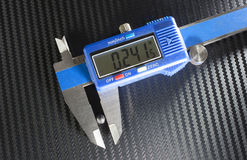 Buckshot measurement Royalty Free Stock Photo