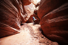 Buckskin Gulch Canyon Royalty Free Stock Photography
