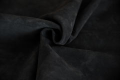 Buckskin suede leather messy mixed tanner materials Royalty Free Stock Photography