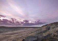 Buckstone edge sunset Stock Image