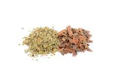 Buckthorn bark, Mate Stock Image