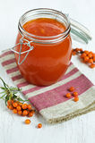 Buckthorn jam Stock Images
