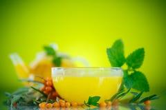 Buckthorn tea Stock Images
