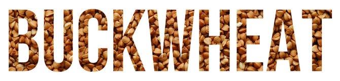 buckwheat imagem de stock royalty free