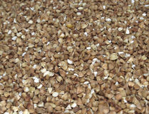 Buckwheat background Stock Photo