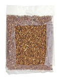 Buckwheat in a bag Royalty Free Stock Image