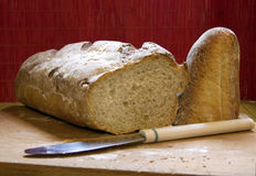 Buckwheat bread Royalty Free Stock Photos
