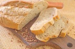 Buckwheat bread Royalty Free Stock Image