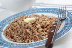 Buckwheat cereal Royalty Free Stock Photography
