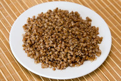 Buckwheat cereal Royalty Free Stock Image