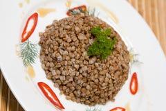 Buckwheat cereal Stock Photos