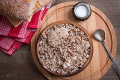 Buckwheat with chicken Royalty Free Stock Photo