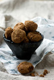 Buckwheat chocolate cookies Stock Photography