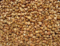 Buckwheat close up. Background Stock Photos