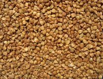 Buckwheat close up. Background Royalty Free Stock Photography