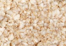Buckwheat cracker background Stock Image