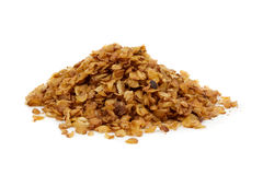 Buckwheat flakes Royalty Free Stock Photos