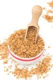 Buckwheat flakes Stock Images