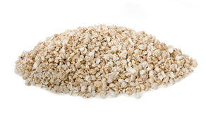 Buckwheat flakes Royalty Free Stock Image