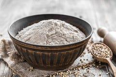 Buckwheat Flour Royalty Free Stock Image
