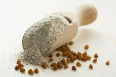 Buckwheat flour Royalty Free Stock Photo