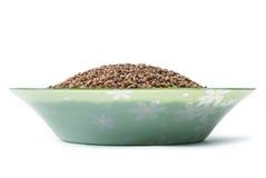 Buckwheat grain Stock Image