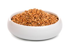 Buckwheat grains Stock Photography