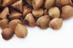 Buckwheat grains Stock Image