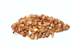 Buckwheat groats Royalty Free Stock Photo