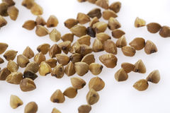 Buckwheat groats Stock Photo