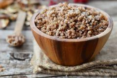 Buckwheat groats Royalty Free Stock Images