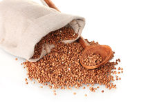 Buckwheat In A Bag Royalty Free Stock Photo