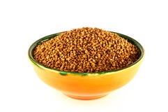 Buckwheat  isolated on white background Royalty Free Stock Images